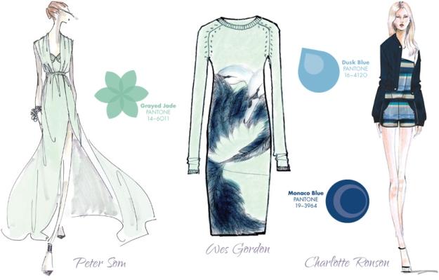 Pantone Spring Fashion Color Report 2012