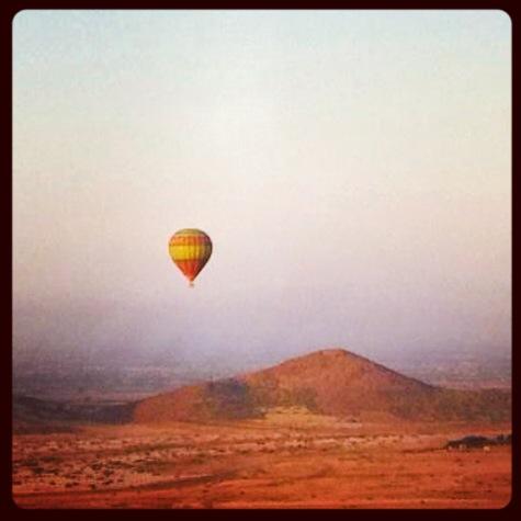 Marrakech, Morocco -- Hot Air Balloon Adventure!
